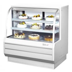 Turbo Air - TCGB-48DR-W-N - 48 in White Non-Refrigerated Bakery Case image