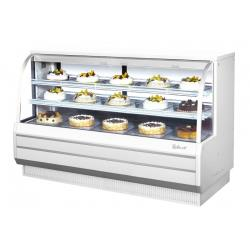 Turbo Air - TCGB-72DR-W-N - 72 in White Non-Refrigerated Bakery Case image