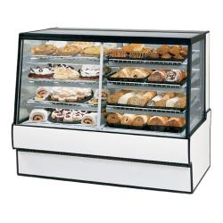 "Federal - SGR5042DZ - High Volume 50"" x 42"" Dual Zone Left/Right Bakery Case image"