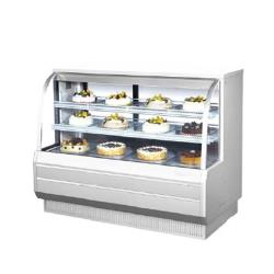 Turbo Air - TCGB-60CO-W-N - 60 in Dual-Zone Bakery Case image