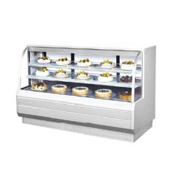 Turbo Air - TCGB-72CO-W-N - 72 in Dual-Zone Bakery Case image