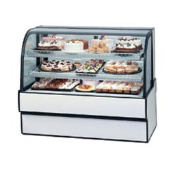 "Federal - CGR3142 - Curved Glass 31"" x 42"" Refrigerated Bakery Case  image"