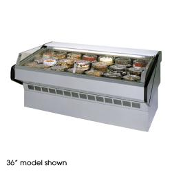 "Federal - SQ-8CBSS - Market Series 96"" Refrigerated Self-Serve Bakery Case image"