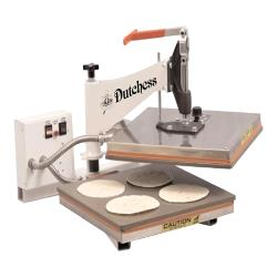 Dutchess Bakery Equipment - DUT/TXM-15 - 15 in Square Manual Tortilla Press image