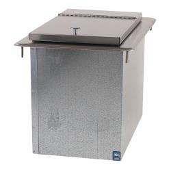 Supreme Metal - D-12-IBL-X - 23 Lb Capacity Drop-In Ice Bin image
