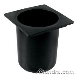 Bar Maid - CR-2400 - Round Black Bottle Well image