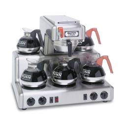 Bunn - RTF-0004 - Automatic Coffee Brewer w/ 5 Warmers & Hot Water Faucet image