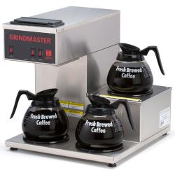 Grindmaster - CPO-3RP-15A - Pourover Coffee Brewer w/ 3 Warmers image