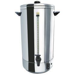 Winco - CU-72 - 72 Cup Stainless Steel Double-Wall Coffee Urn image