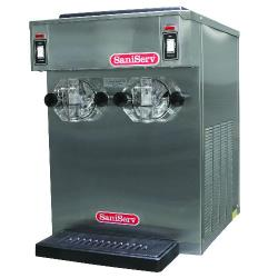 SaniServ - 791 - Countertop Twin 10 Gal/Hr 14 Qt Frozen Beverage Machine image