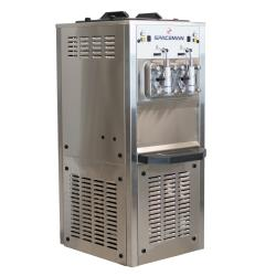 Spaceman - 6795H - Floor Standing High Volume Dual Flavor Frozen Drink Machine with Hopper Agitator image