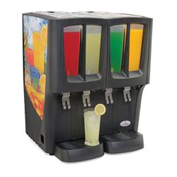Crathco - C-4D-16 - G-Cool™ Mini-Quattro™ Four Bowl Beverage Dispenser image