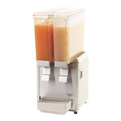 Crathco - E29-4 - Mini Twin™ Refrigerated Beverage Dispenser with Plastic Side Panels image