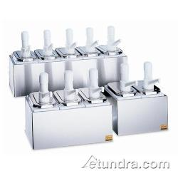 San Jamar - P9712 - Double 2 1/2 Qt Condiment Pump Service Center image