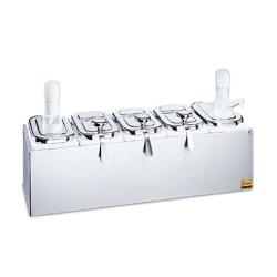 San Jamar - P9723 - Topping Bar w/ Ultra Pumps image