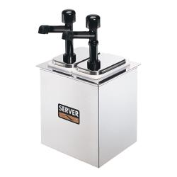 Server - 79800 - Drop-In Bar Combo w/(2) Jars & Solution™ Pumps image