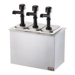 Server - 79820 - Drop-In Bar Combo w/(3) Jars & Solution™ Pumps image