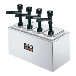 Server - 79830 - Countertop Bar Combo w/(4) Jars & Solution™ Pumps image