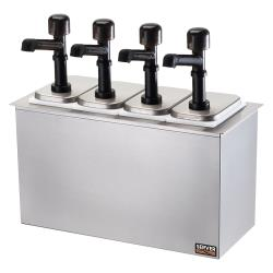 Server - 79840 - Drop-In Bar Combo w/(4) Jars & Solution™ Pumps image