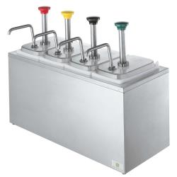 Server - 82830 - Stainless Steel 4-Pump Rail System image