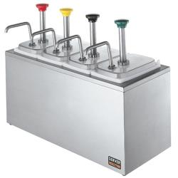 Server - 83700 - 4 Pump Stainless Steel Serving Bar image