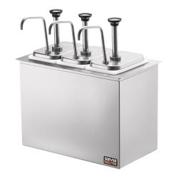 Server - 83860 - Drop-In Bar Combo w/(3) Jars & Pumps image