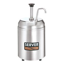Server - 94000 - Insulated Countertop Cream Server & Pump image