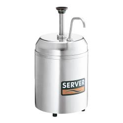 Server - 94070 - Insulated Jar & Condiment Pump For #10 Can image