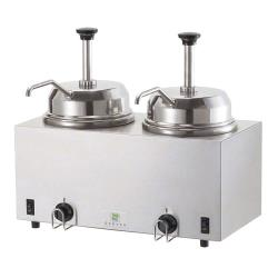 Server - 81230 - Twin Topping Warmer w/(2) Pumps image