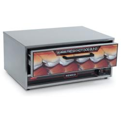 Nemco - 8045N-BW - Narrow 32 Bun & Food Warmer image