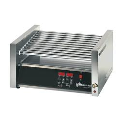 Star - 30CBDE - Grill-Max® Electronic 30 Hot Dog Roller Grill w/ Bun Drawer image
