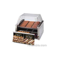 Star - 30SCBD - Grill-Max Pro® 30 Hot Dog Roller Grill w/ Bun Drawer image