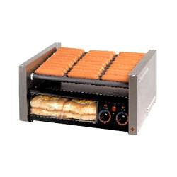 Star - 50CBBC - Grill-Max® 50 Hot Dog Roller Grill w/ Clear Door image