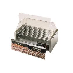 Star - 75SCBBC - Grill-Max Pro® 75 Hot Dog Roller Grill w/ Clear Door image