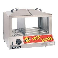 Adcraft - HDS-1200W - Hot Dog Steamer image