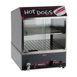 Nemco - 8300 - Hot Dog Steamer w/ Low Water Indicator Light image