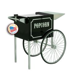 Paragon - 3070820 - Cart for 1911 6-8 oz. Popcorn Popper, Black & Chrome image