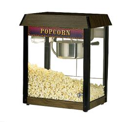 Star - 39D-A - JetStar 6 oz Wood-Grain Popcorn Popper image