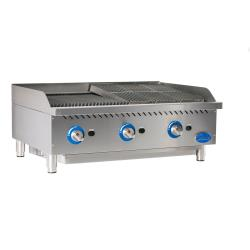 Globe - GCB36G-SR - 36 in Radiant Gas Charbroiler image