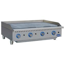 Globe - GCB48G-CR - 48 in Radiant Gas Charbroiler image