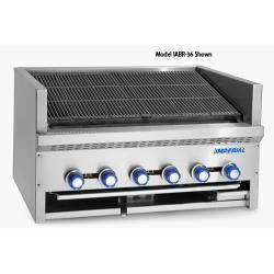Imperial - IABR-72 - 72 in Radiant Countertop Steakhouse Broiler image