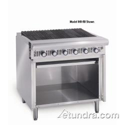"Imperial - IHR-RB - Diamond Series 36"" Radiant Charbroiler w/ Cabinet image"