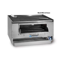 Imperial - MSQ-60 - 60 in Mesquite Charbroiler image