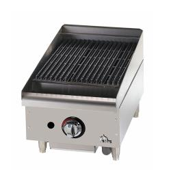 Star Manufacturing - 6015CBF - Star-Max 15 in Lava Rock Charbroiler image