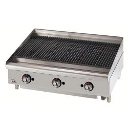 Star Manufacturing - 6036CBF - Star-Max® 36 in Lava Rock Gas Charbroiler image