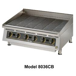 Star Manufacturing - 8024CBA - Ultra-Max® 24 in Lava Rock Gas Charbroiler image