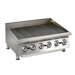 Star Manufacturing - 8136RCBA - 36 in Ultra-Max® Radiant Gas Charbroiler image