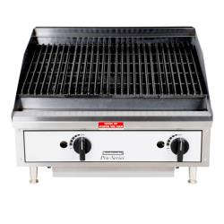 Toastmaster - TMLC24 - 24 in Pro-Series™ Countertop Lava Rock Gas Charbroiler image