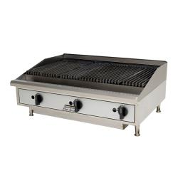Toastmaster - TMLC36 - 36 in PRO-SERIES™ Countertop Lava Rock Gas Charbroiler image
