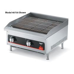 "Vollrath - 40728 - Cayenne® 12"" Radiant/Lava Rock Charbroiler image"